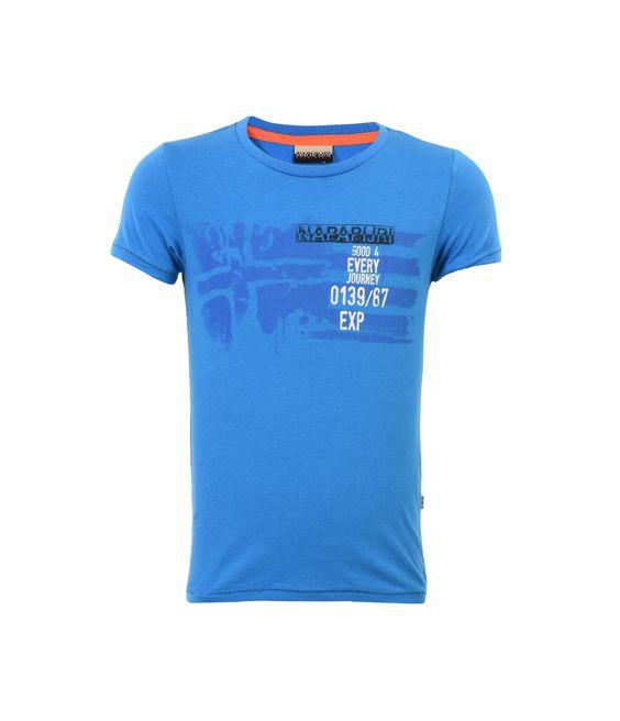 NAPAPIJRI K STOK JUNIOR Kurzärmliges T-Shirt Herren f