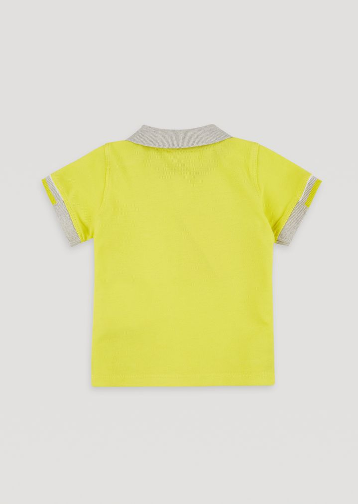 9335e3fc Cotton piqué polo shirt | Kid | Armani Junior