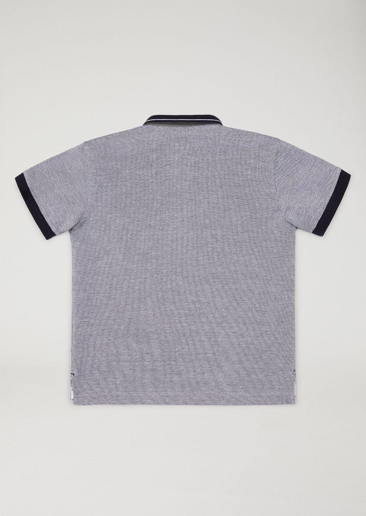 527242b965 Polo shirt with contrast trims | Kid | Armani Junior