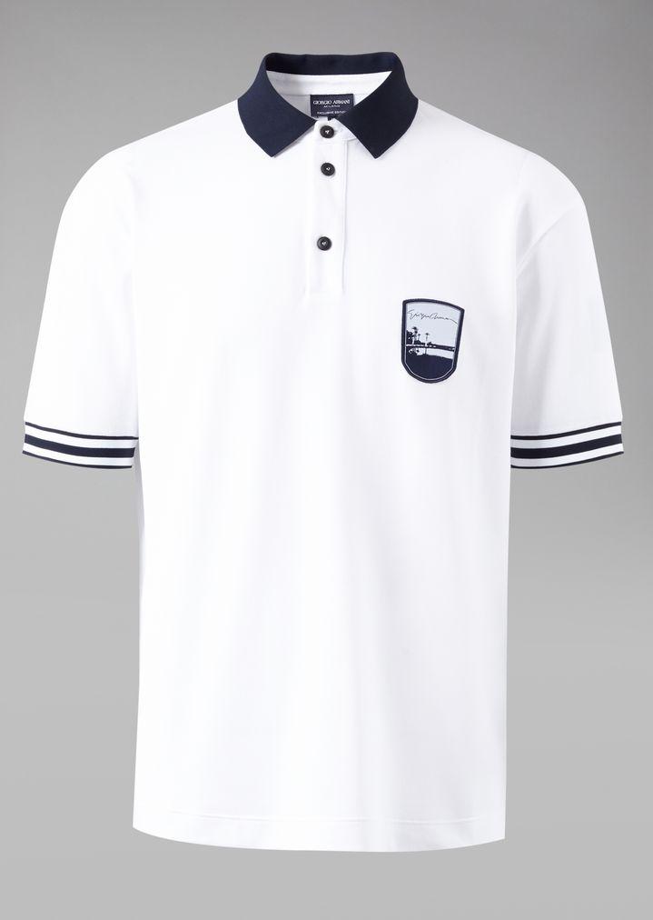Embroidered Man Polo Pantelleria With Shirt Emblem Cotton wfqt8U6