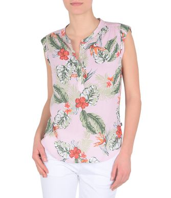 NAPAPIJRI GRENNY  WOMAN SLEEVELESS SHIRT,LIGHT PINK