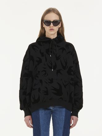 Cut-Up Swallow Hoodie