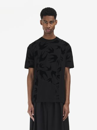 Swallow Swarm Cut-Up T-Shirt