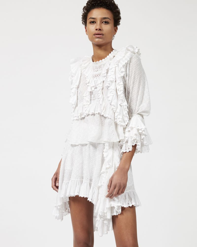 ZIM Top con ruches  ISABEL MARANT