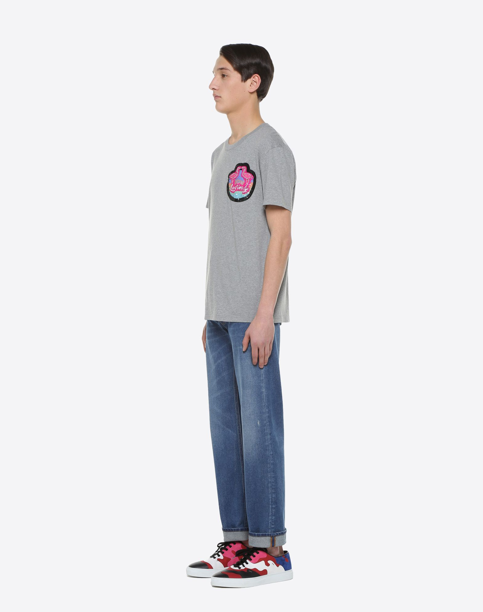 VALENTINO UOMO Hotel T-shirt with patch detail T-shirt U d