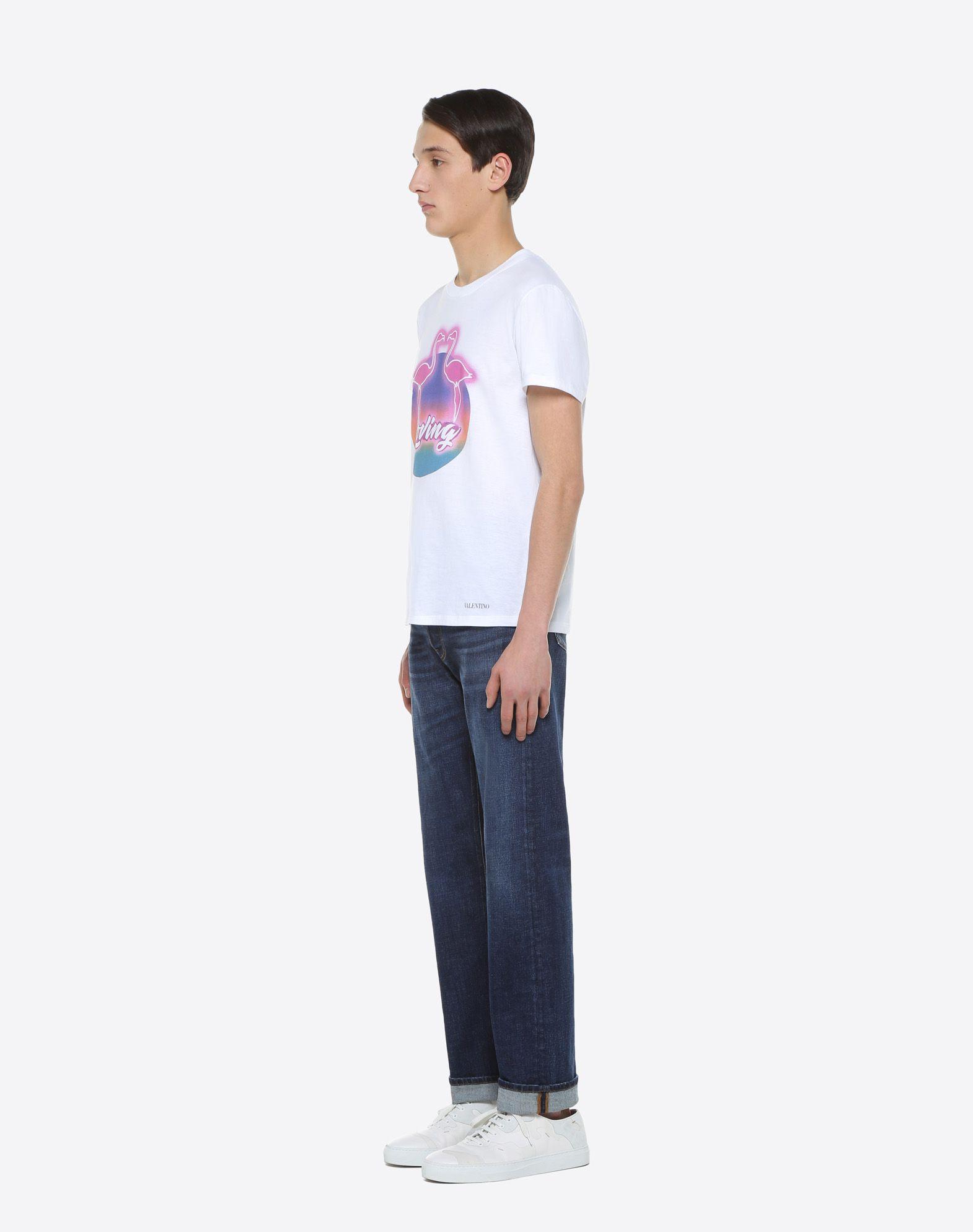 VALENTINO UOMO Camiseta con estampado Hotel Camiseta U d