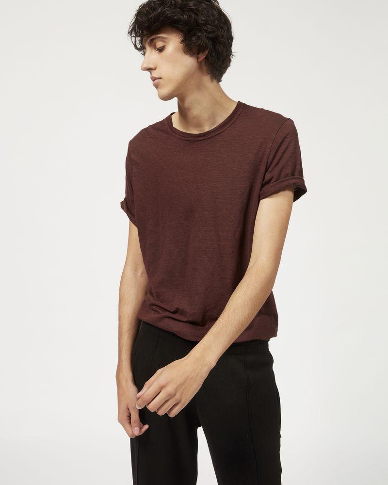 KARMAN linen T-shirt  ISABEL MARANT