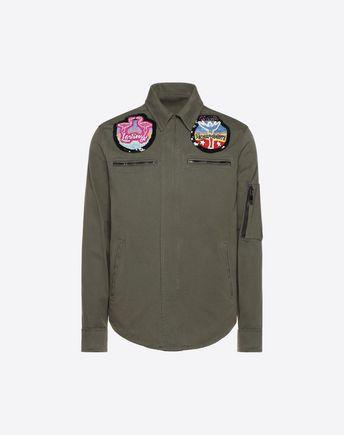 VALENTINO UOMO Down jacket U VLTN oversized down coat f