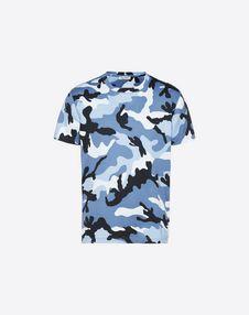 VALENTINO UOMO T-shirt U Camouflage-print T-shirt f