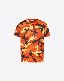 VALENTINO T-shirt U Camouflage-print T-shirt f
