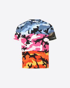 VALENTINO UOMO Camiseta U Camiseta Camou Shuffle f