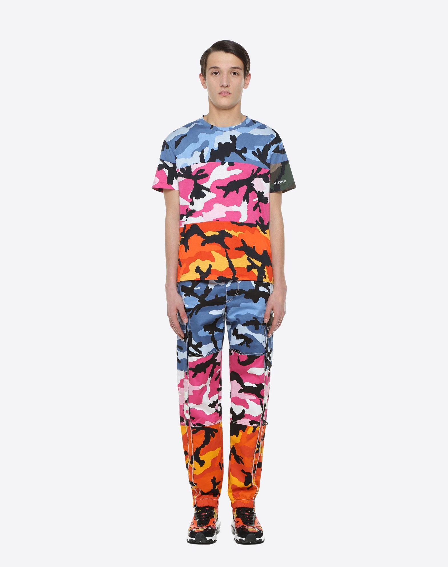 VALENTINO UOMO Camiseta Camou Shuffle Camiseta U r