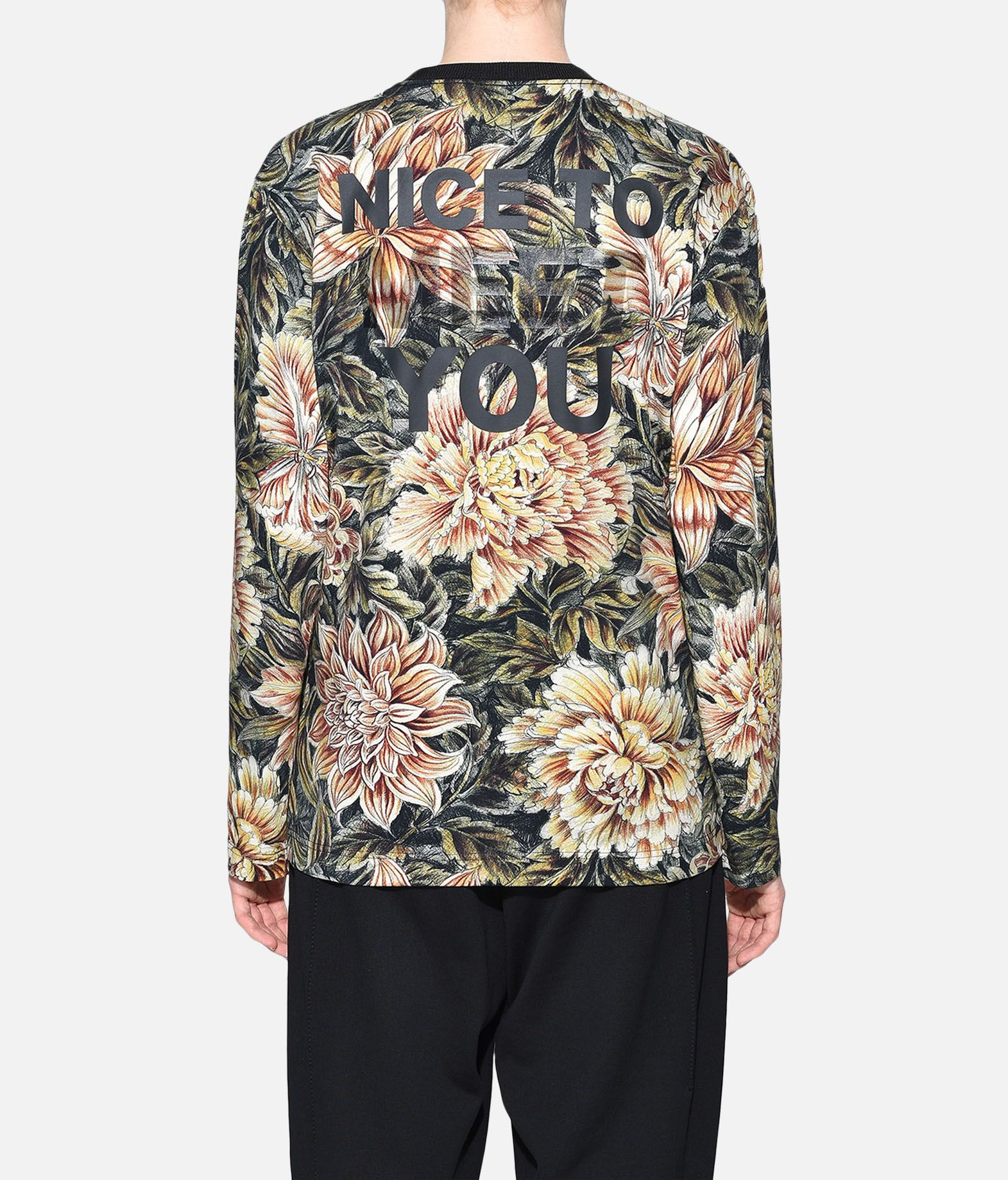 Y-3 Y-3 AOP Tee Long sleeve t-shirt Woman d