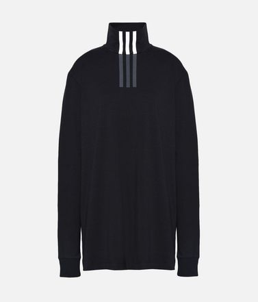 Y-3 3-Stripes High Neck Tee
