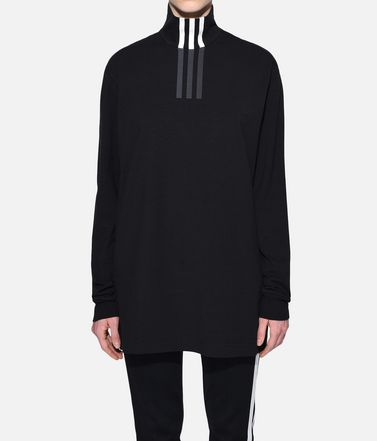 Y-3 Long sleeve t-shirt Woman Y-3 3-Stripes High Neck Tee r