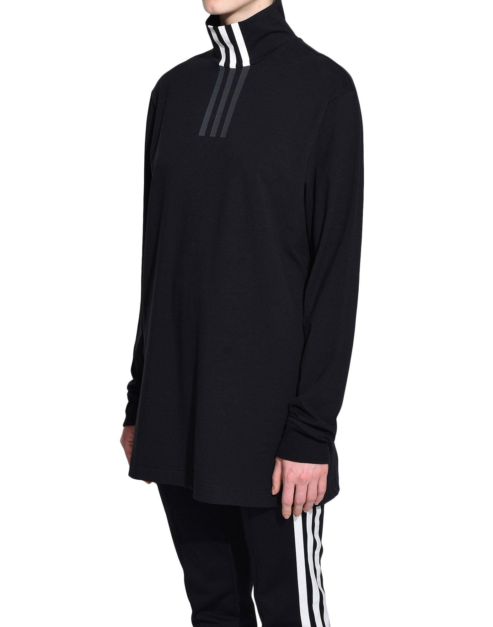 Y-3 Y-3 3-Stripes High Neck Tee Long sleeve t-shirt Woman e