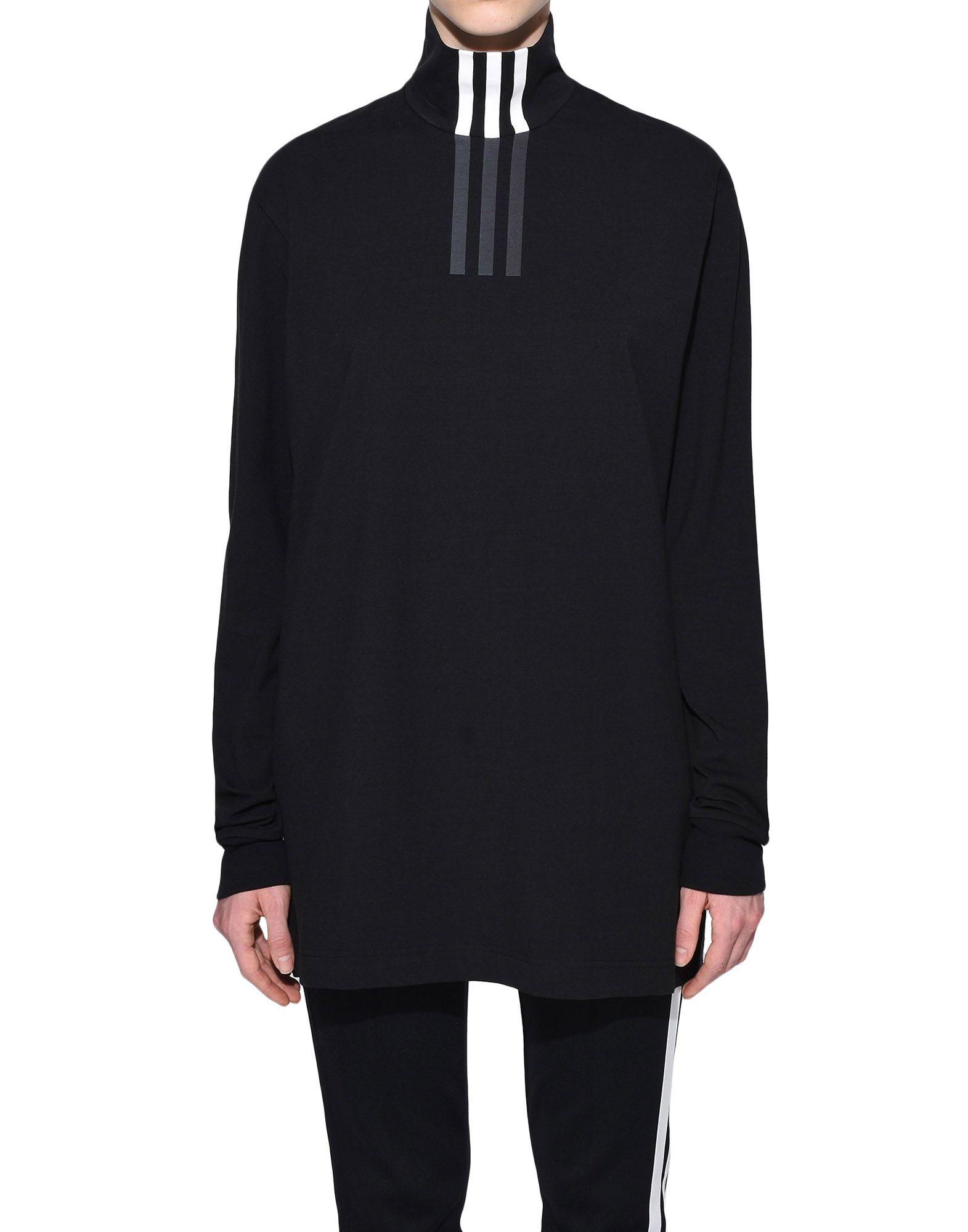 Y-3 Y-3 3-Stripes High Neck Tee Long sleeve t-shirt Woman r