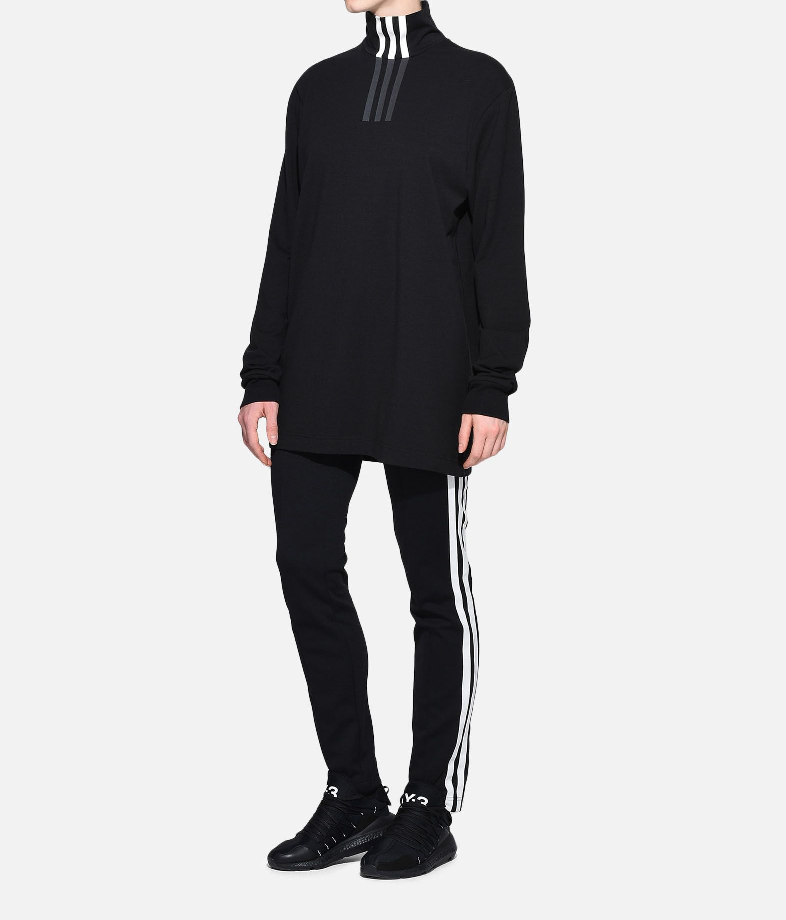 Y-3 Y-3 3-Stripes High Neck Tee Long sleeve t-shirt Woman a
