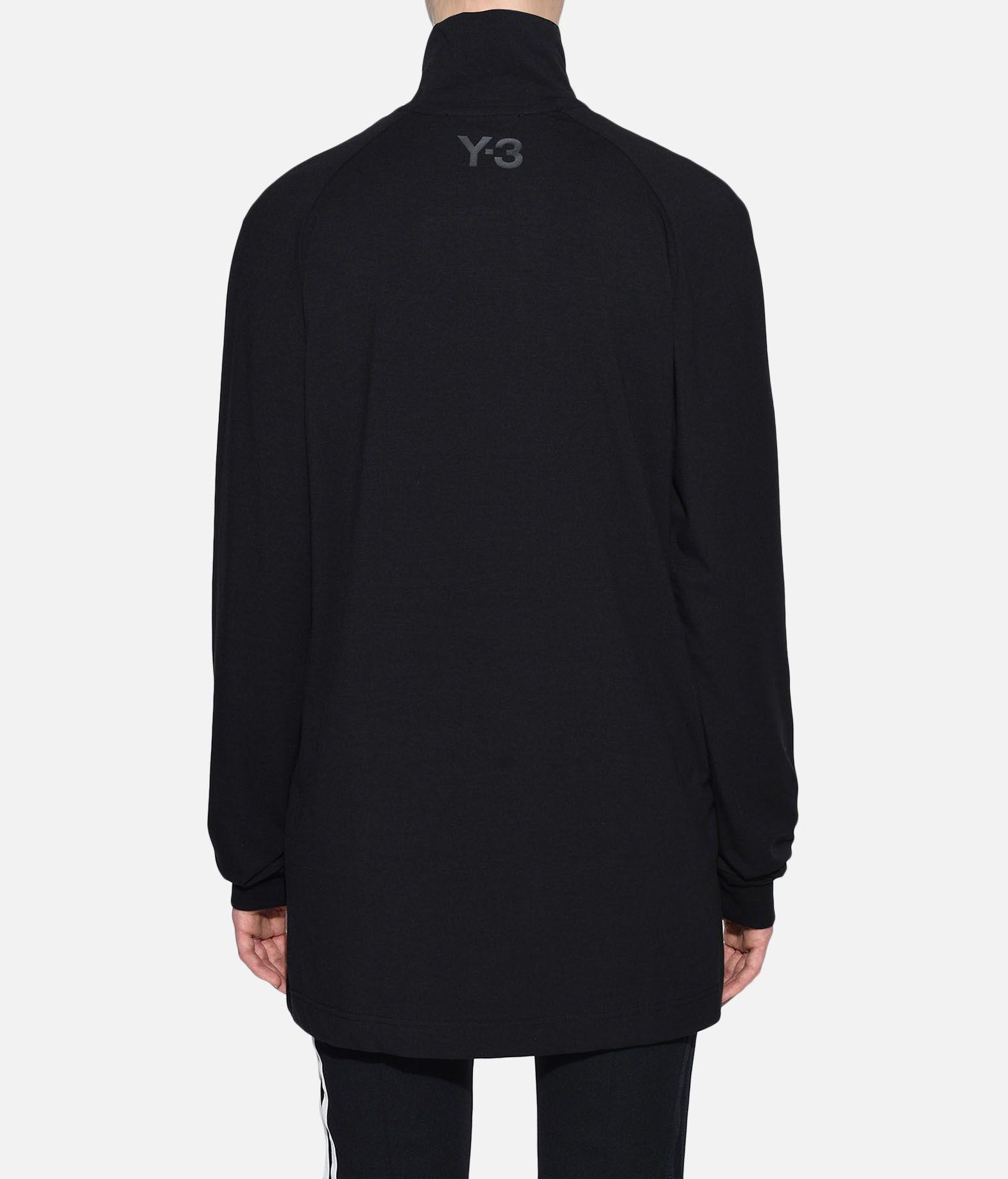 Y-3 Y-3 3-Stripes High Neck Tee Long sleeve t-shirt Woman d