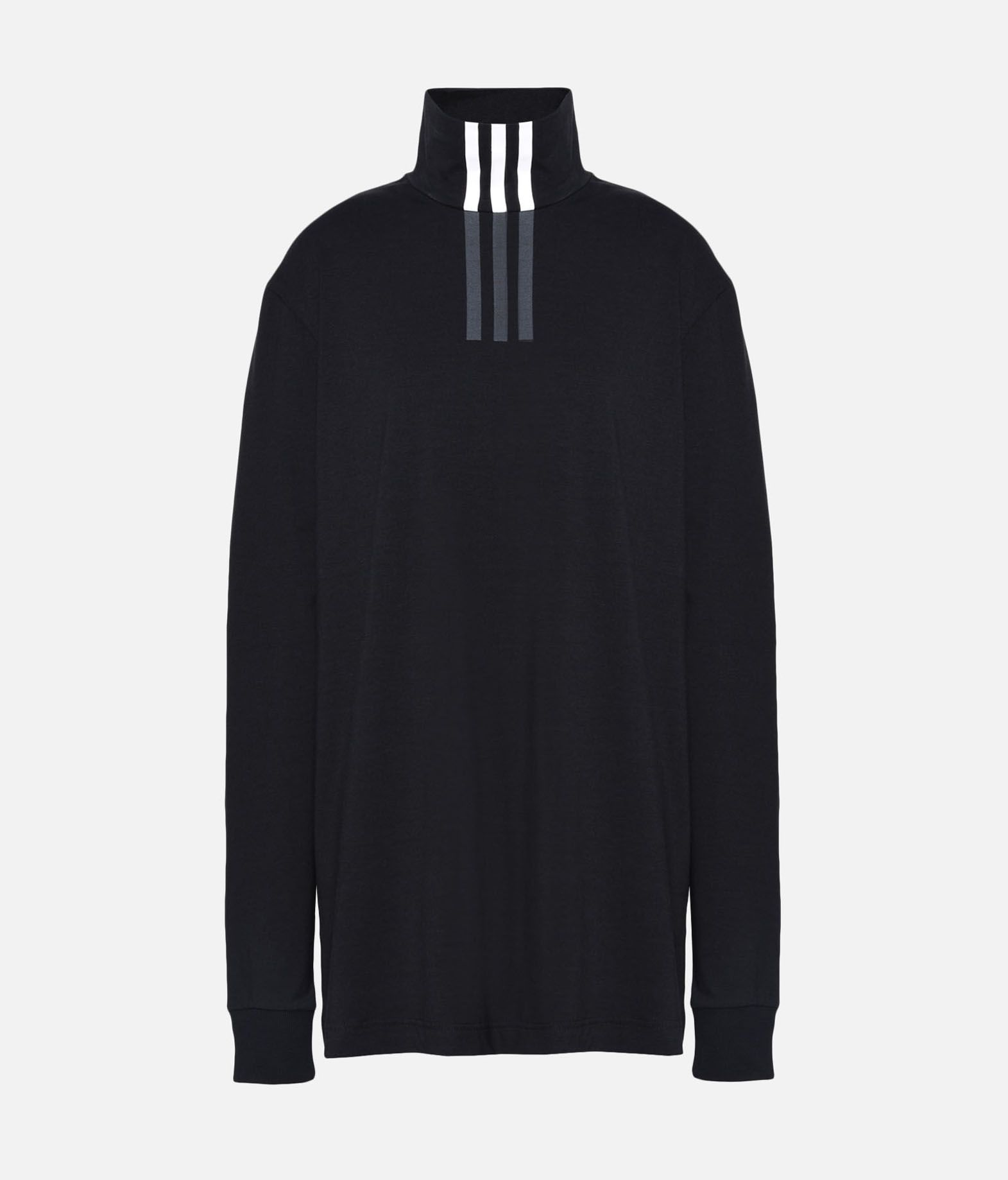 Y-3 Y-3 3-Stripes High Neck Tee Long sleeve t-shirt Woman f