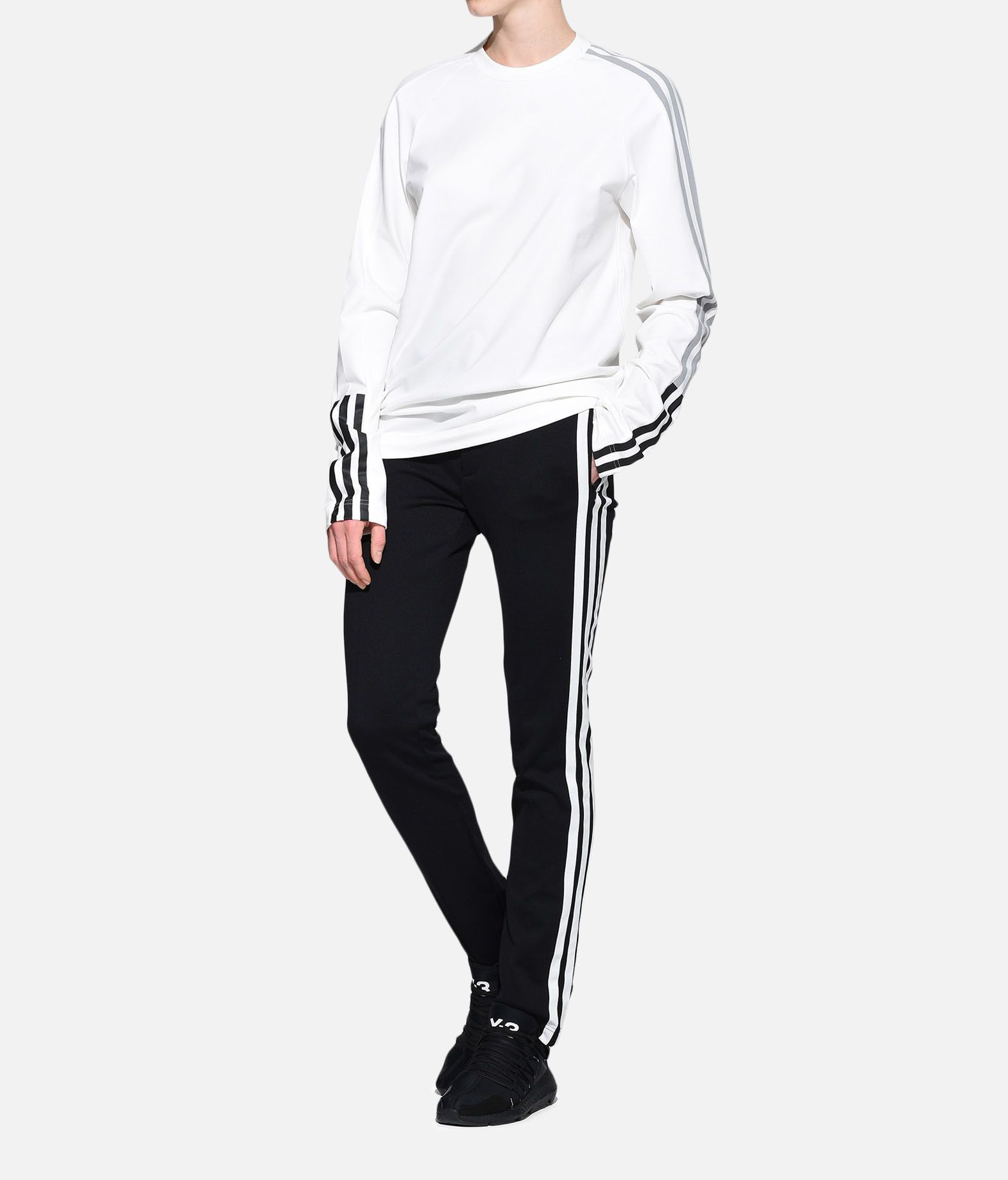 Y-3 Y-3 3-Stripes Tee Long sleeve t-shirt Woman a