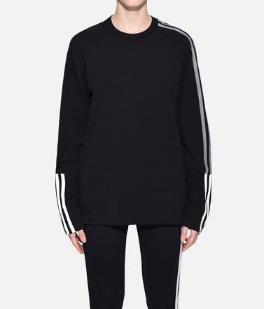 Y-3 Long sleeve t-shirt Woman Y-3 3-Stripes Tee r