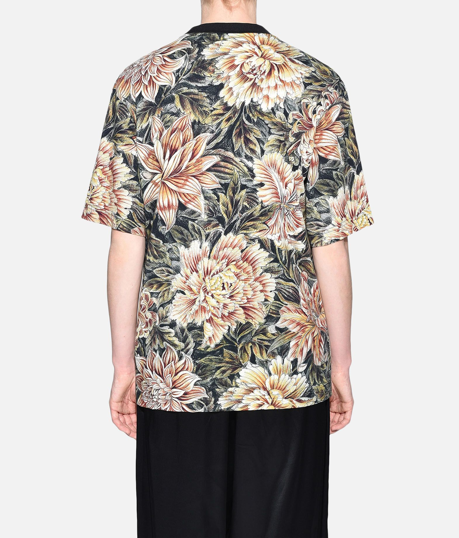 Y-3 Y-3 AOP High Neck Tee Short sleeve t-shirt Woman d
