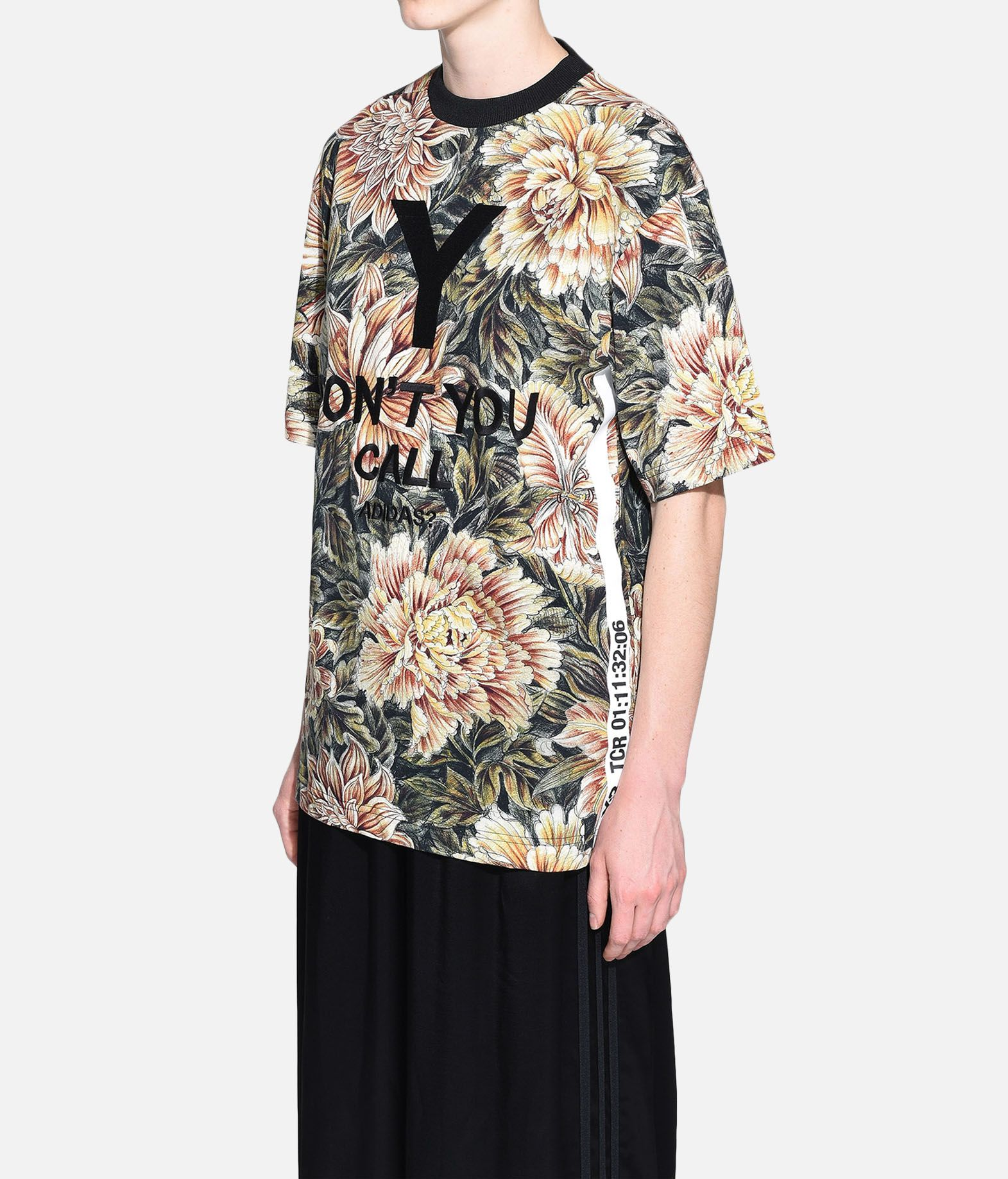Y-3 Y-3 AOP High Neck Tee Short sleeve t-shirt Woman e