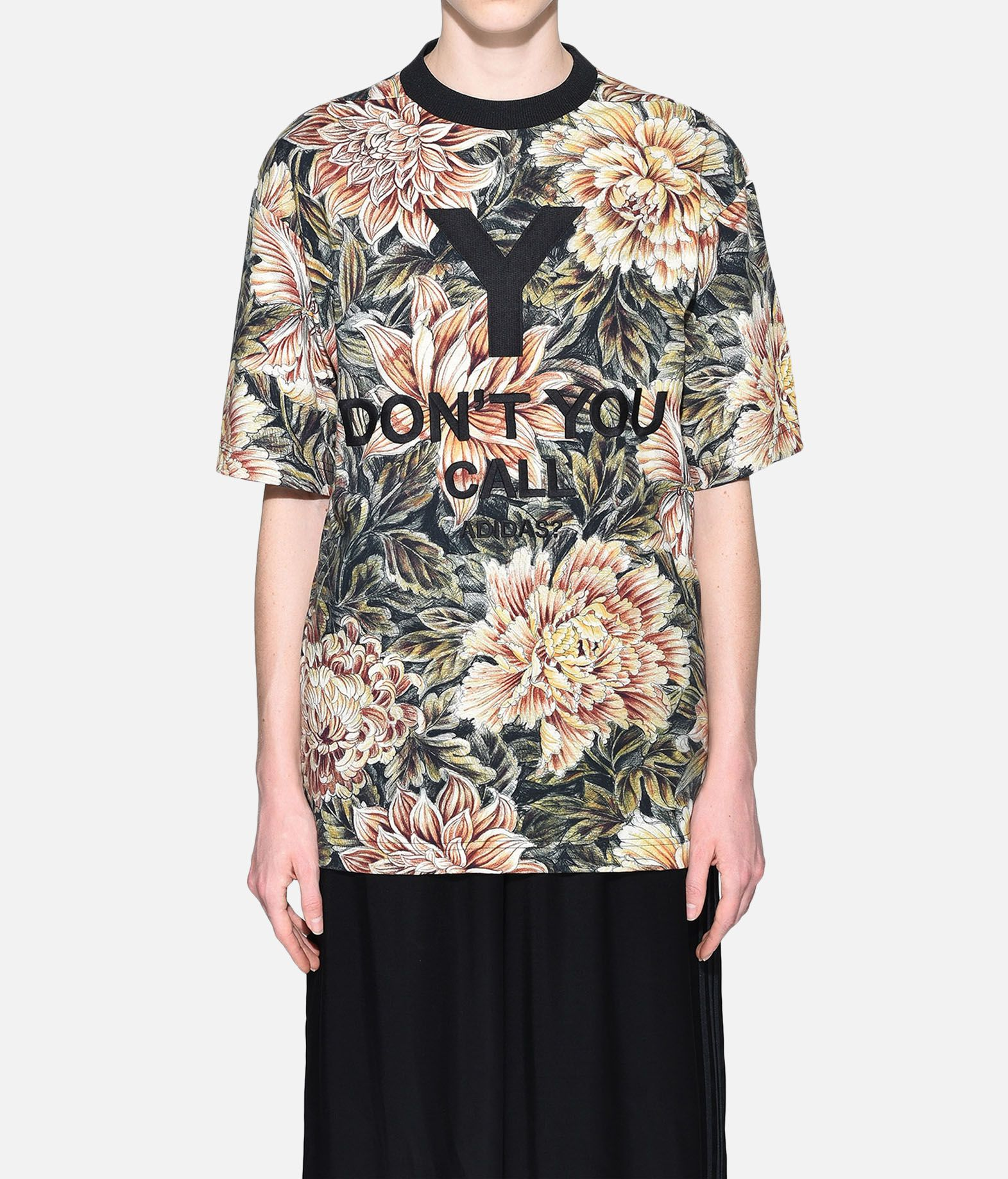 Y-3 Y-3 AOP High Neck Tee Short sleeve t-shirt Woman r