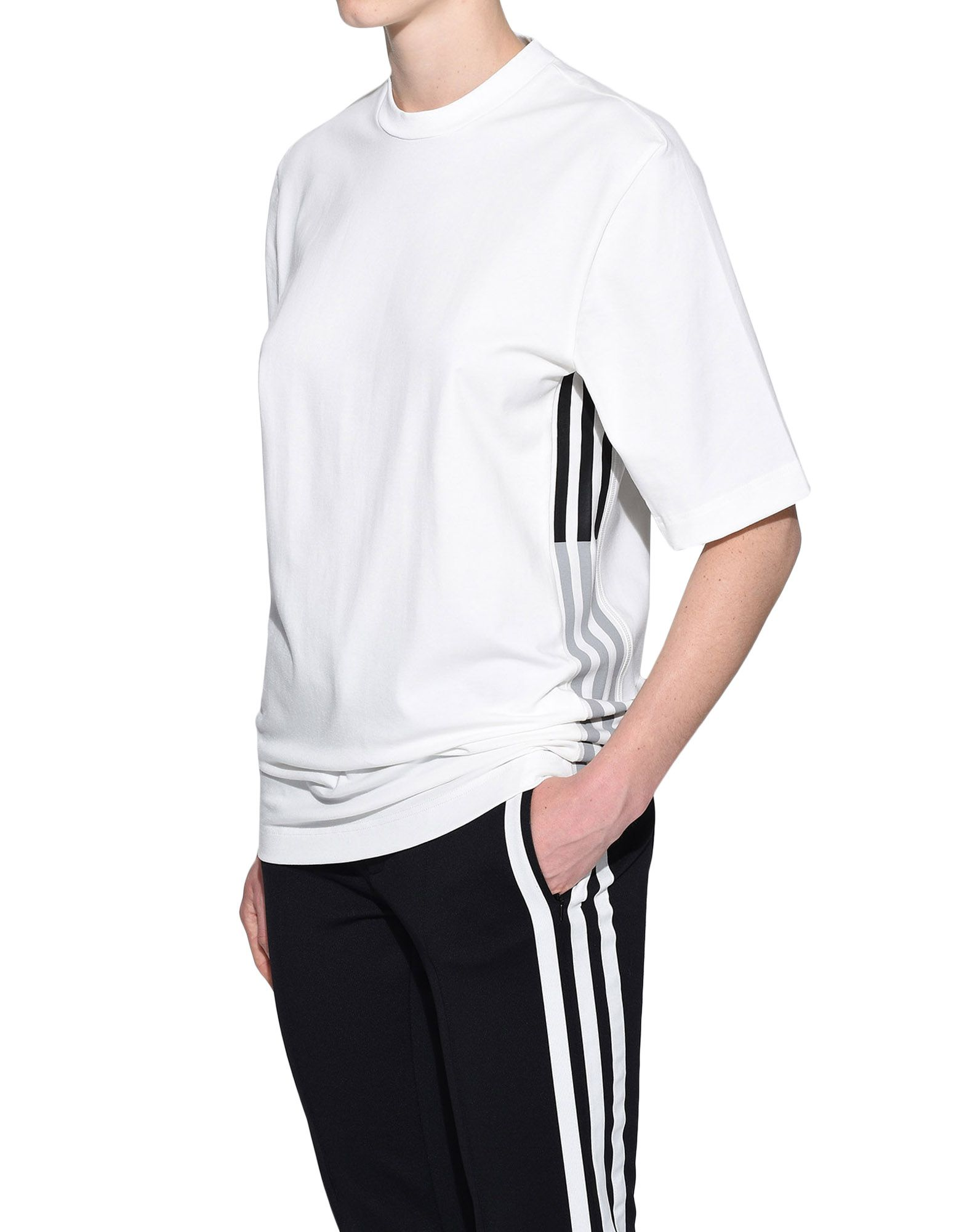 Y-3 Y-3 3-Stripes Tee Short sleeve t-shirt Woman e