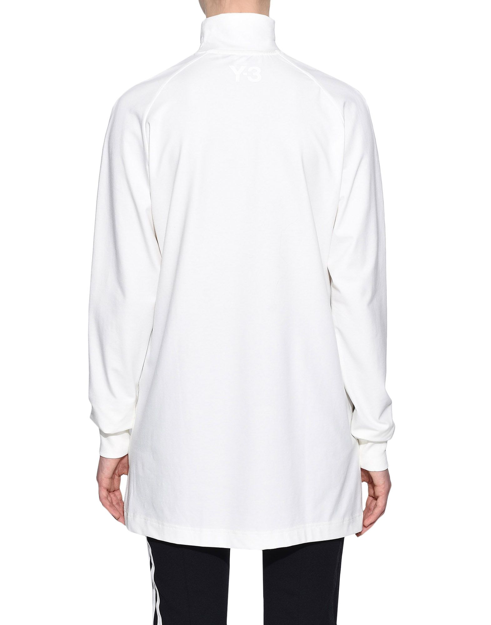 Y-3 Y-3 3-Stripes High Neck Tee Long sleeve t-shirt Woman d