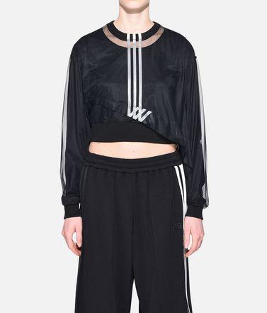 Y-3 T-shirt maniche lunghe Donna Y-3 3-Stripes Mesh Cropped Tee r