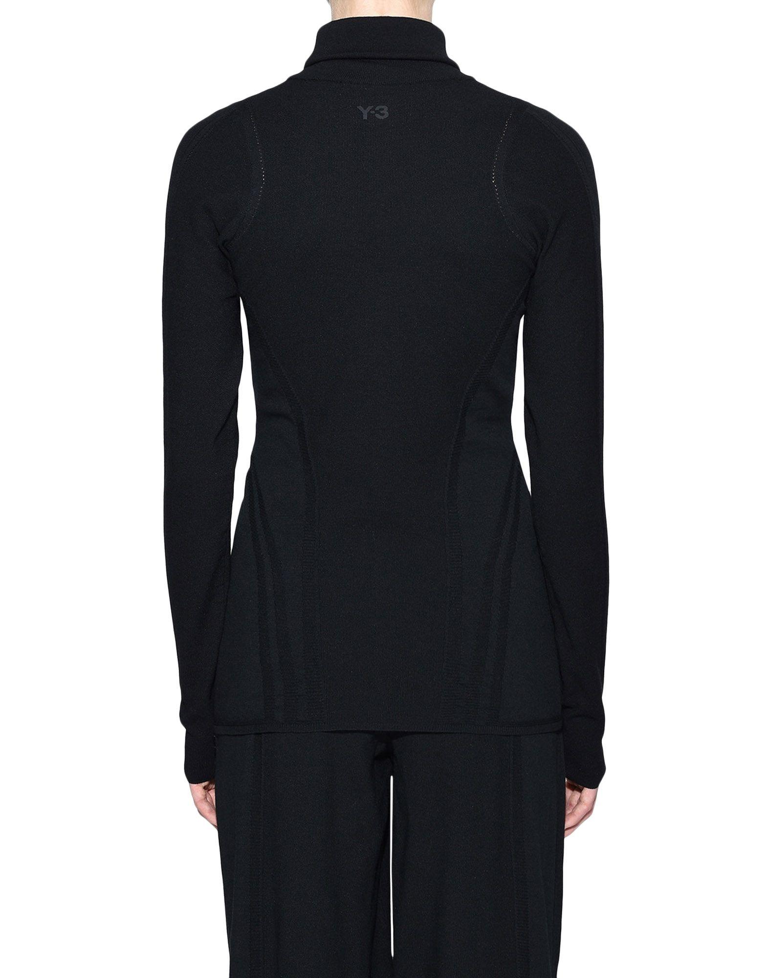 Y-3 Y-3 Tech Wool High Neck Tee Long sleeve t-shirt Woman d
