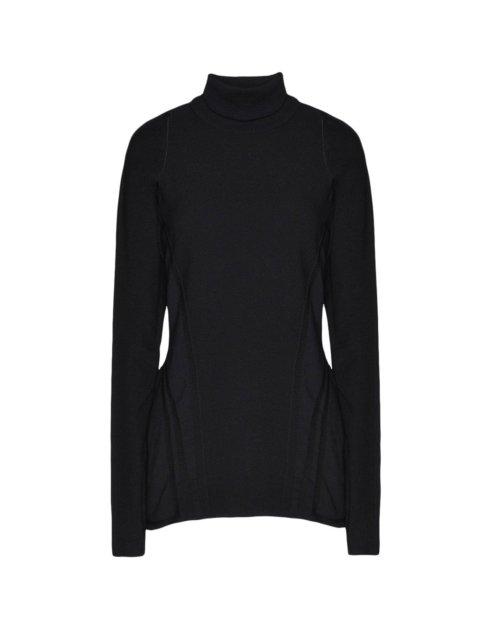 Y-3 Y-3 Tech Wool High Neck Tee Long sleeve t-shirt Woman f
