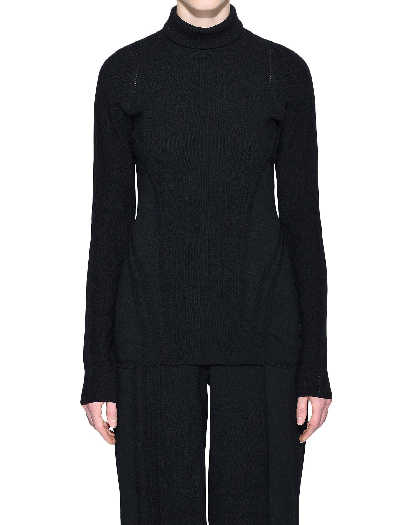 Y-3 Y-3 Tech Wool High Neck Tee Long sleeve t-shirt Woman r