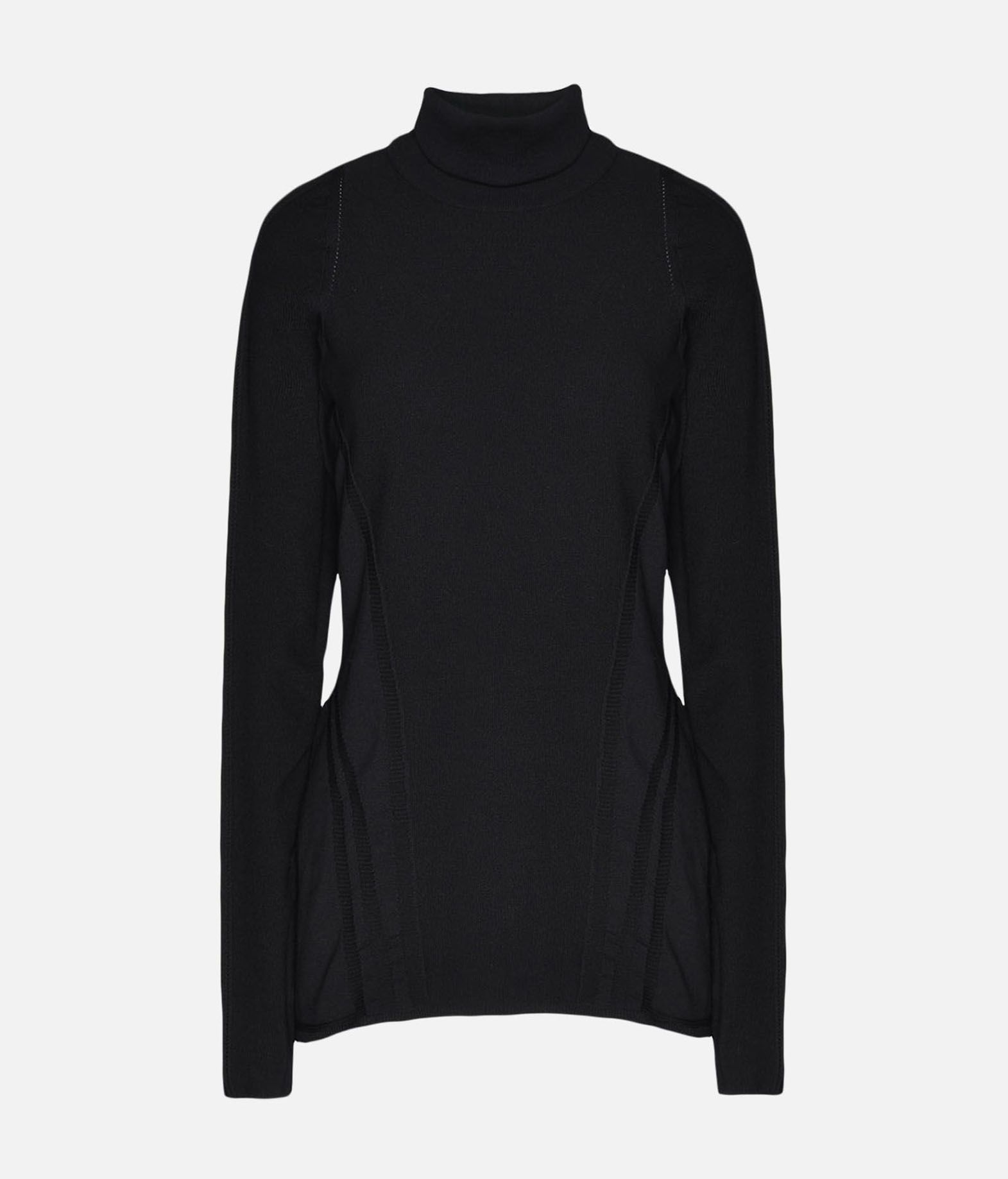 Y-3 Y-3 Tech Wool High Neck Tee Long sleeve t-shirt Woman f