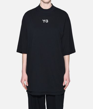 Y-3 T-shirt maniche corte Donna Y-3 Signature Long Tee r