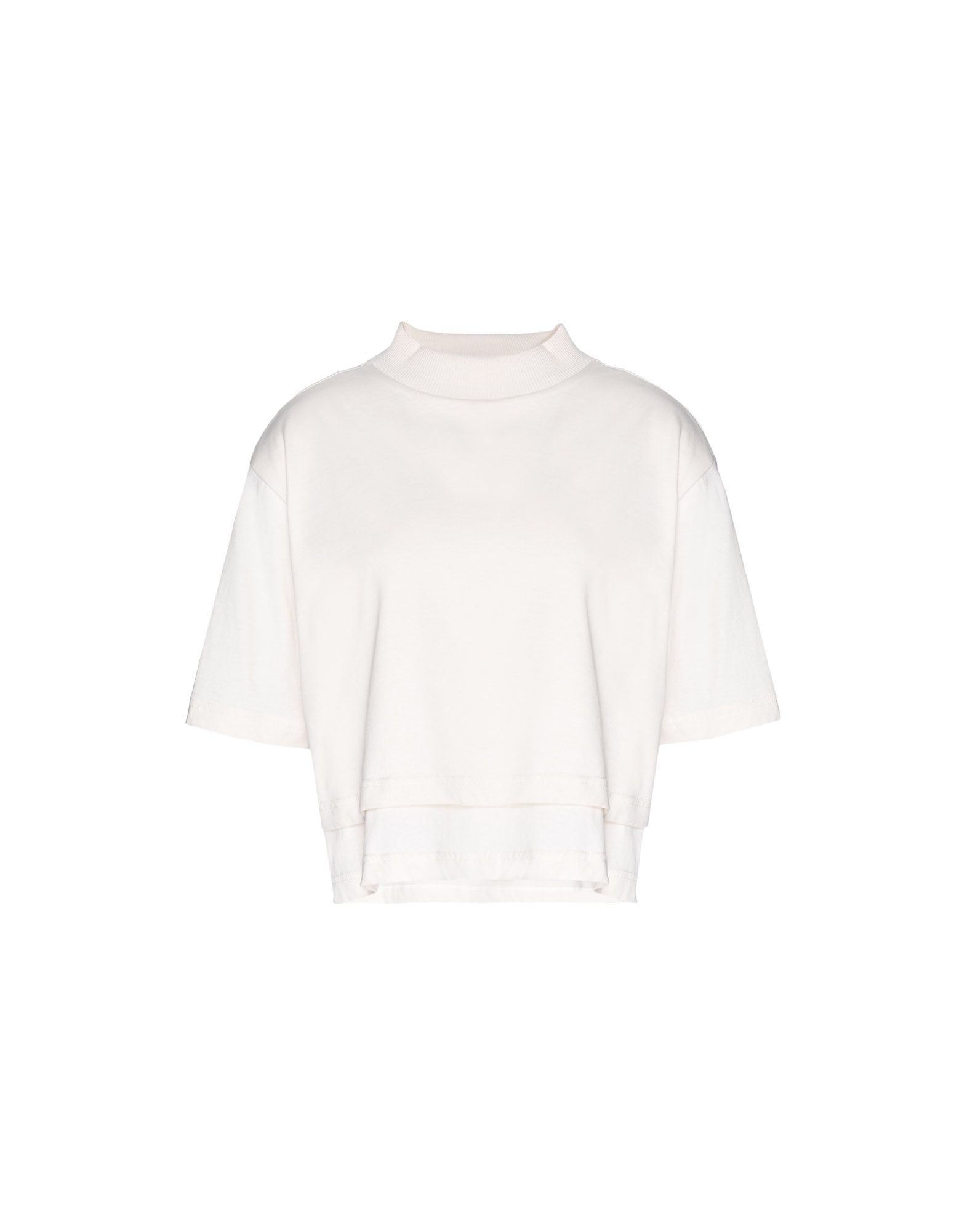 Y-3 Y-3 Stacked Logo Cropped Tee T シャツ レディース f