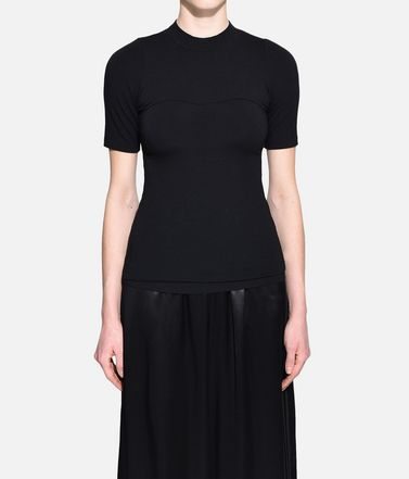Y-3 Short sleeve t-shirt Woman Y-3 Prime Wool Tee r