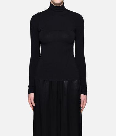 Y-3 T-shirt maniche lunghe Donna Y-3 Prime Wool Tee r