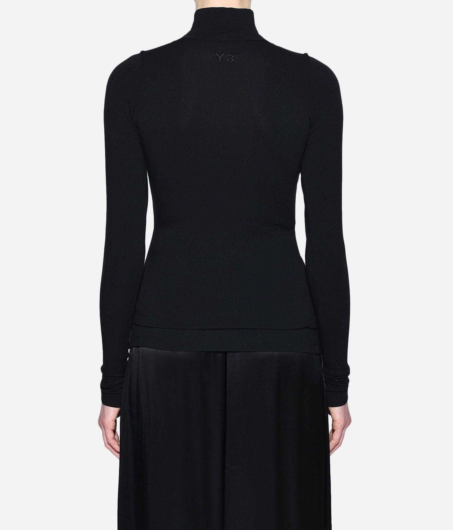 Y-3 Y-3 Prime Wool Tee Long sleeve t-shirt Woman d