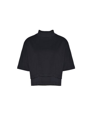 Y-3 Stacked Logo Cropped Tee