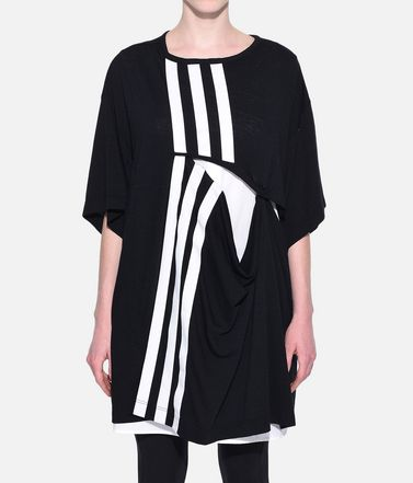 Y-3 T シャツ レディース Y-3 3-Stripes Layered Tee r