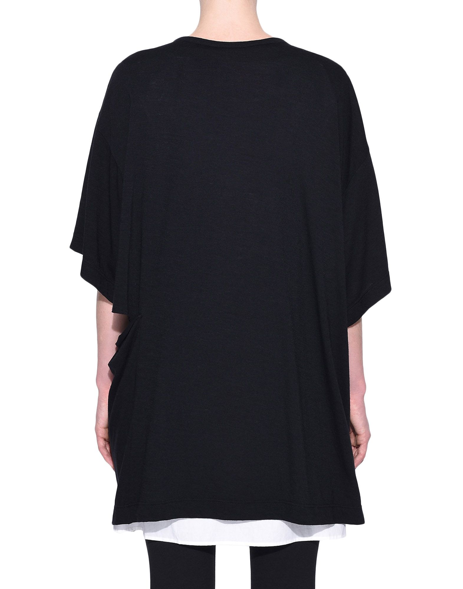 Y-3 Y-3 3-Stripes Layered Tee Short sleeve t-shirt Woman d