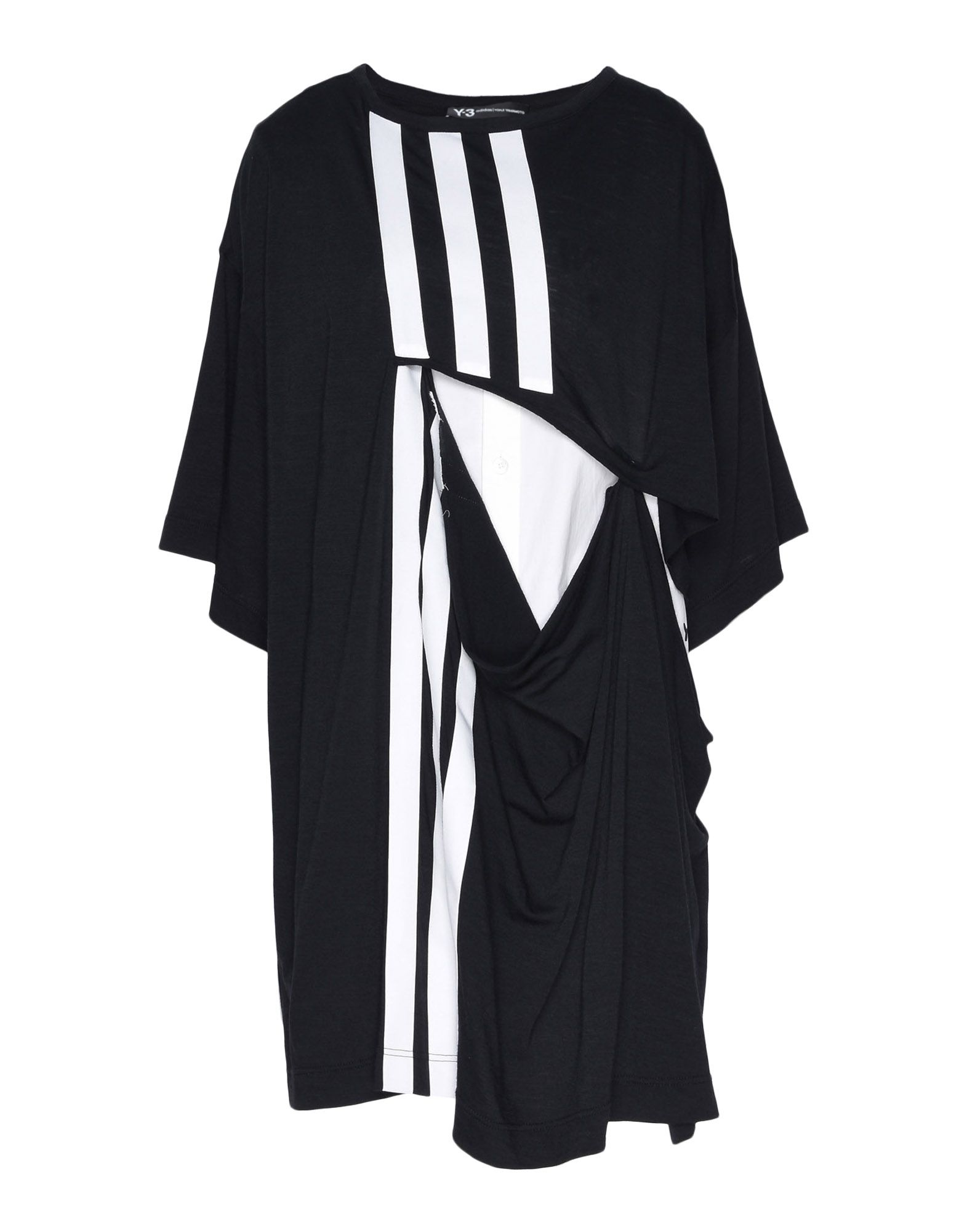 Y-3 Y-3 3-Stripes Layered Tee Short sleeve t-shirt Woman f