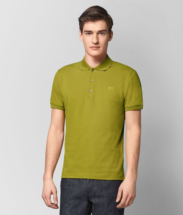 BOTTEGA VENETA CHAMOMILE COTTON T-SHIRT Polo And Tee [*** pickupInStoreShippingNotGuaranteed_info ***] fp
