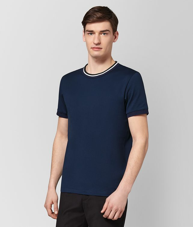 BOTTEGA VENETA ATLANTIC COTTON T-SHIRT Polo And Tee [*** pickupInStoreShippingNotGuaranteed_info ***] fp