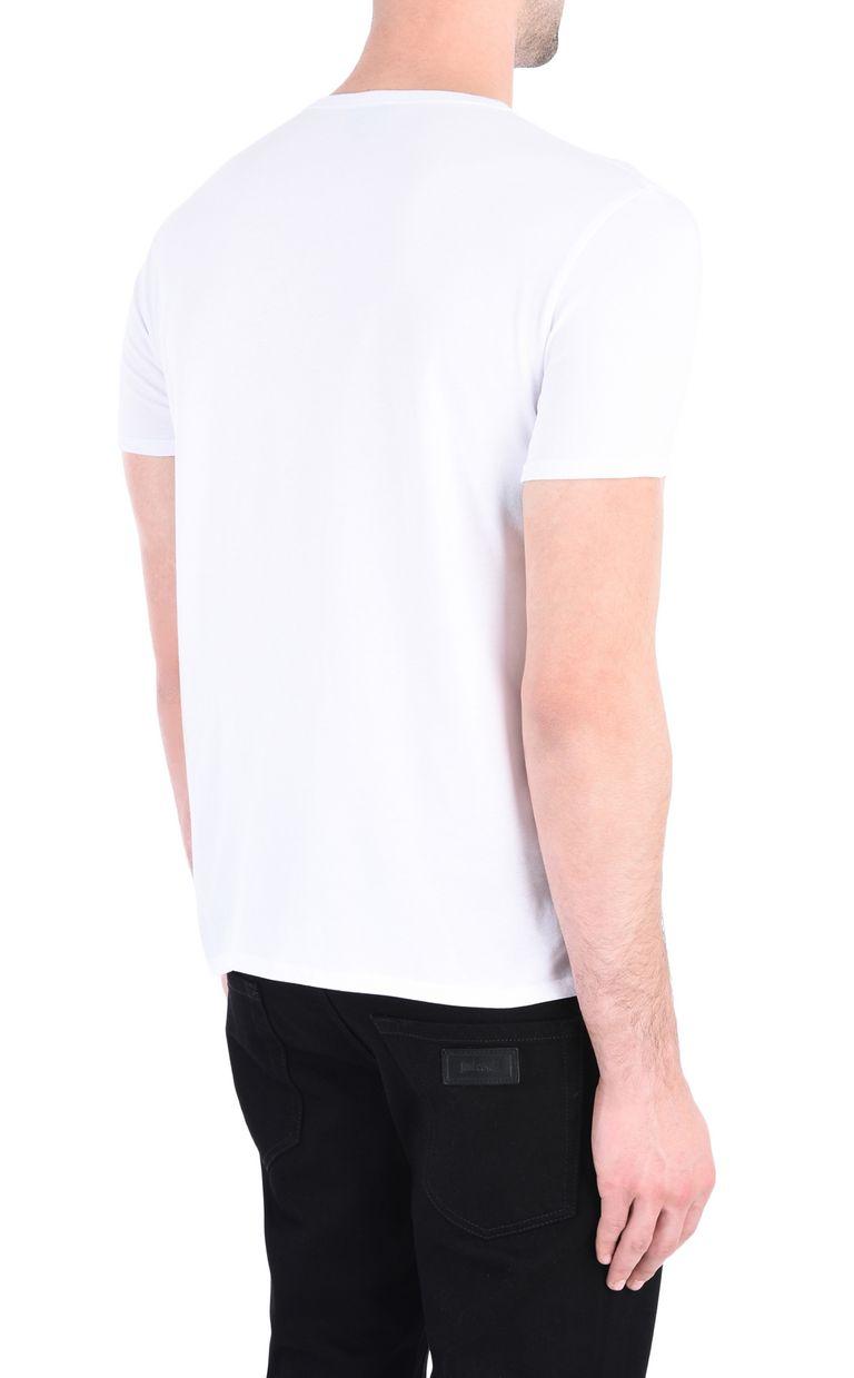 JUST CAVALLI Intarsia Leo T-shirt Short sleeve t-shirt [*** pickupInStoreShippingNotGuaranteed_info ***] d