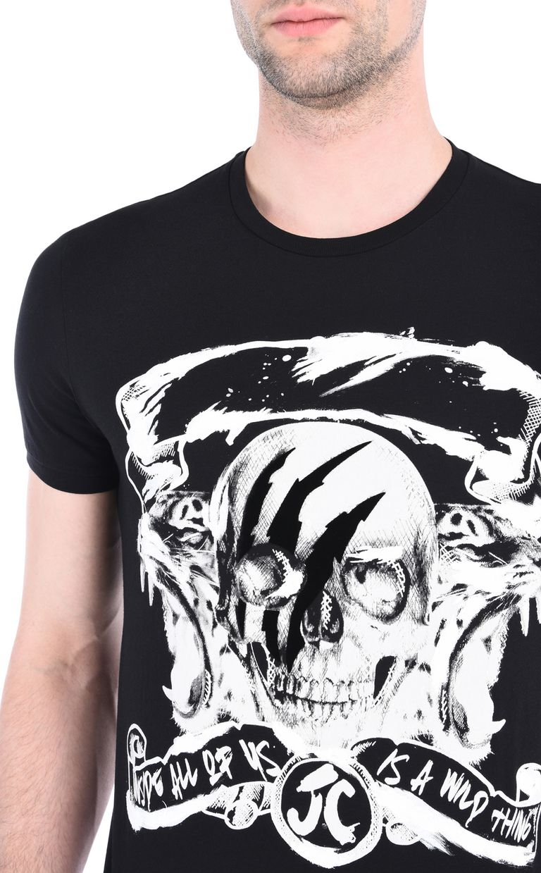 JUST CAVALLI Wild Thing T-shirt Short sleeve t-shirt [*** pickupInStoreShippingNotGuaranteed_info ***] e