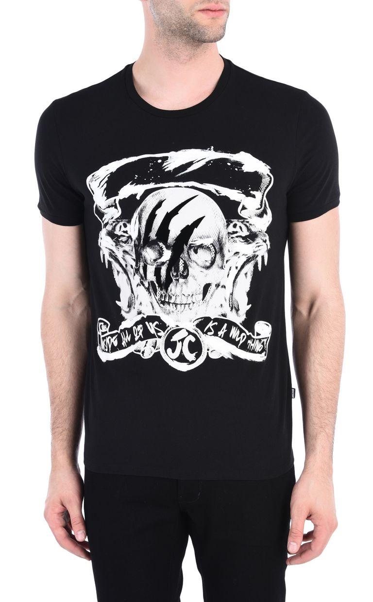 JUST CAVALLI Wild Thing T-shirt Short sleeve t-shirt [*** pickupInStoreShippingNotGuaranteed_info ***] f